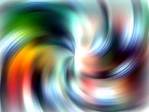 Vagues molles comme la conception abstraite colorée Image libre de droits