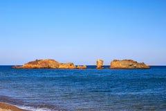 Vai beach Stock Images