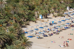 The Vai Beach, Crete Royalty Free Stock Photo
