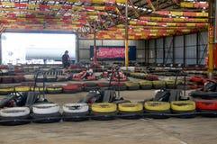 Vai a competência de Kart Imagem de Stock Royalty Free