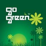 vai o verde Foto de Stock