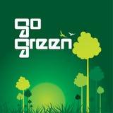 vai o verde Fotografia de Stock Royalty Free
