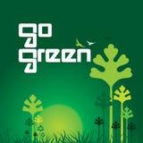 vai o verde Imagem de Stock Royalty Free