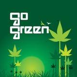 vai o verde Imagens de Stock Royalty Free