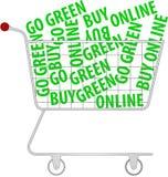 Vai o verde - compre em linha Foto de Stock