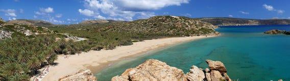 Vai plażowy Crete zdjęcie stock