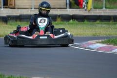 Vai a raça de Karting Foto de Stock Royalty Free