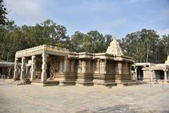 Vaidyeshvara寺庙, Talakad,卡纳塔克邦 免版税库存图片