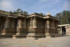 Vaidyeshvara寺庙, Talakad,卡纳塔克邦 库存照片
