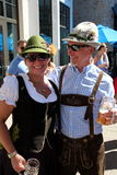 VAIL, ΚΟΛΟΡΆΝΤΟ, ΗΠΑ - 10 Σεπτεμβρίου 2016: Ετήσιος εορτασμός του γερμανικού πολιτισμού, των τροφίμων και του ποτού στοκ φωτογραφίες με δικαίωμα ελεύθερης χρήσης