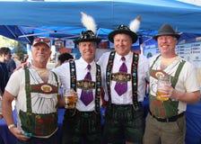 VAIL, КОЛОРАДО, США - 10-ое сентября 2016: Ежегодное торжество немецких культуры, еды и питья Стоковое Фото