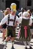 VAIL, КОЛОРАДО, США - 10-ое сентября 2016: Ежегодное торжество немецких культуры, еды и питья стоковые фото