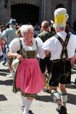 VAIL, КОЛОРАДО, США - 10-ое сентября 2016: Ежегодное торжество немецких культуры, еды и питья Стоковая Фотография RF