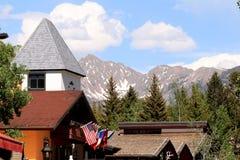 Vail by, Colorado fotografering för bildbyråer