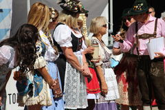 VAIL, COLORADO, de V.S. - 10 September, 2016: Jaarlijkse viering van Duitse cultuur, voedsel en drank Stock Afbeelding