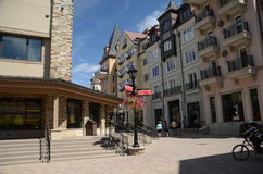 Vail, Colorado. Is a popular resort town in the United States Royalty Free Stock Images