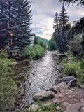 Vail Colorado. A shallow rover in Vail Colorado Royalty Free Stock Images