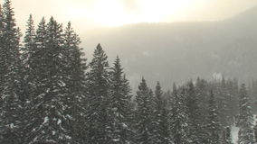 Vail colorado snow stock footage