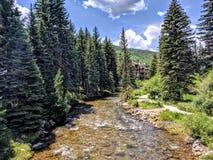 Vail Colorado. Water stream in Vail Colorado Royalty Free Stock Image