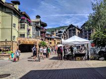 Vail farmers market Royalty Free Stock Images