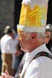 VAIL, KOLORADO, usa - Wrzesień 10, 2016: Roczny świętowanie Niemiecka kultura, jedzenie i napój, Fotografia Royalty Free