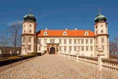 Vaina Brdy de Mnisek del castillo Imagen de archivo libre de regalías