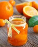Vainilla de la mermelada anaranjada Fotos de archivo libres de regalías