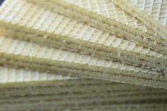 Vainilla de la oblea Foto de archivo libre de regalías