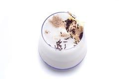 Vainilla del helado del cóctel Fotografía de archivo