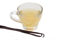 Vainilla del té Imagen de archivo