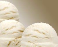Vainilla helado Imagenes de archivo