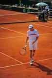 Vainqueur Crivoi - Coupe Davis d'homme de tennis Image libre de droits