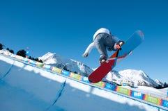 Vainqueur Habermacher, Jeux Olympiques de la jeunesse Photos stock