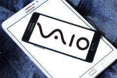 VAIO Korporation logo Arkivfoto
