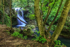 Vaioaga vattenfall Fotografering för Bildbyråer