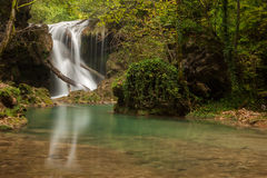 Vaioaga-Wasserfall lizenzfreie stockfotos
