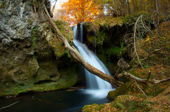 \'Vaioaga\' Waterfall. Is situated in the South-Vest of Romania, in Nera Natural Park Stock Photography