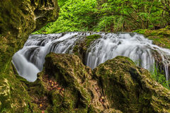 Vaioaga waterfall Royalty Free Stock Photography