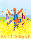 Vaisakhi harvest festival Stock Photography