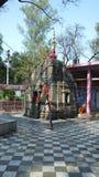 Vaishno Devi. 'Pehla darshan' temple in Jammu, visited by pilgrims before the shrine of Vaishno Devi royalty free stock image