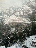 Vaishno Devi. Temple on Ice royalty free stock photos