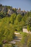 Vaison-Ла-Romaine, в Провансали, Франция Стоковое фото RF