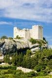 Vaison-la-Romaine. Ruins of castle, Vaison-la-Romaine, Provence, France Royalty Free Stock Photos