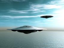 Vaisseau spatial étranger Photos libres de droits