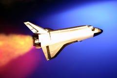 Vaisseau spatial Photo libre de droits