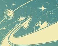 Vaisseau spatial Photos libres de droits