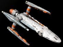 vaisseau spatial illustration stock