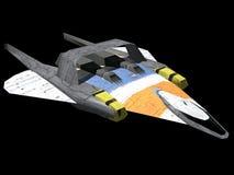 vaisseau spatial illustration libre de droits