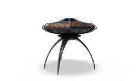 Vaisseau spatial d'UFO Photographie stock