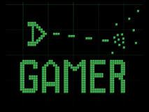 Vaisseau spatial de Gamer Photos stock